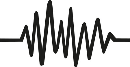 Chaotic Heartbeat line