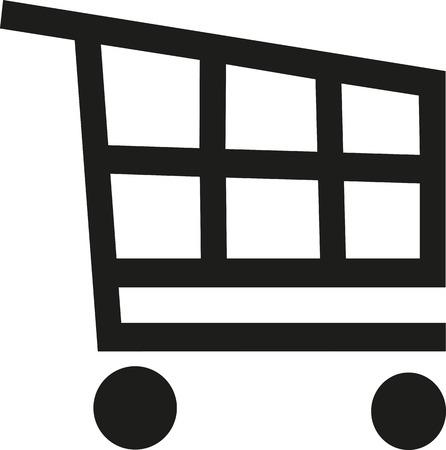 shopping trolley: Shopping trolley