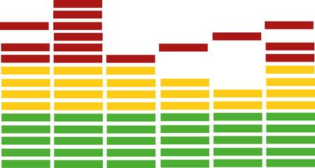 digital volume: Equalizer icon
