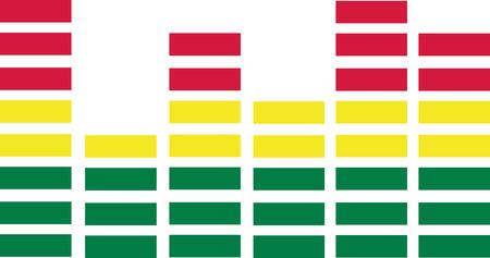 digital volume: Equalizer symbol