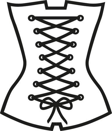 corsage: Corset corsage