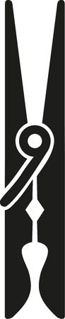 clamp: Clothes Peg icon clamp