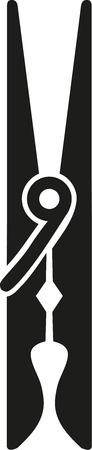 Clothes Peg icon clamp