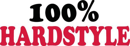 mainstream: 100 percent Hardstyle