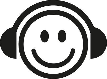 smiley: DJ smiley
