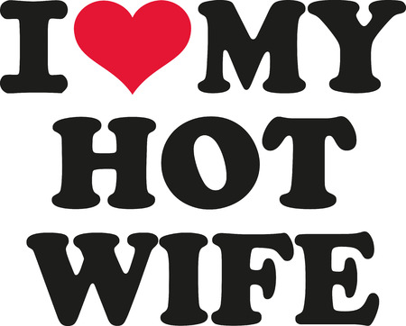 hot couple: I love my hot  wife