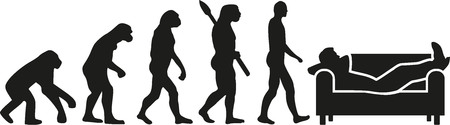unemployed dismissed: Unemployed evolution - jobless Illustration