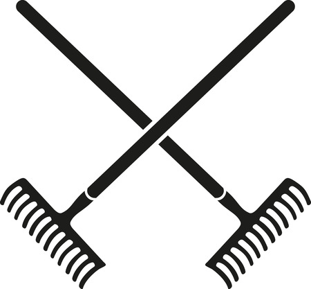 rakes: Crossed Rakes