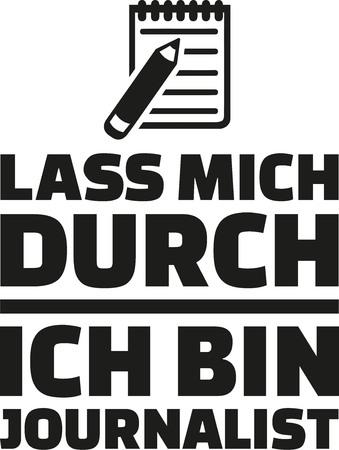 私、私は-ドイツのジャーナリスト