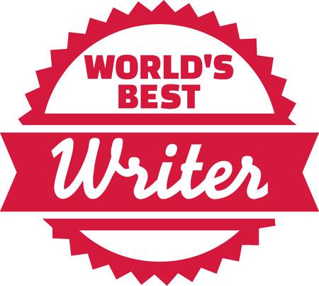 the writer: Worlds best writer