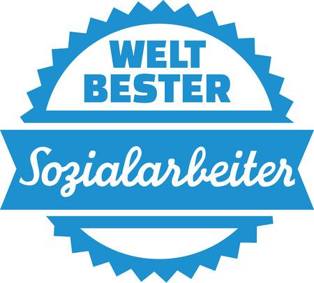 social worker: Worlds best Social Worker german