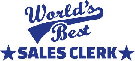 Worlds best Sale clerk