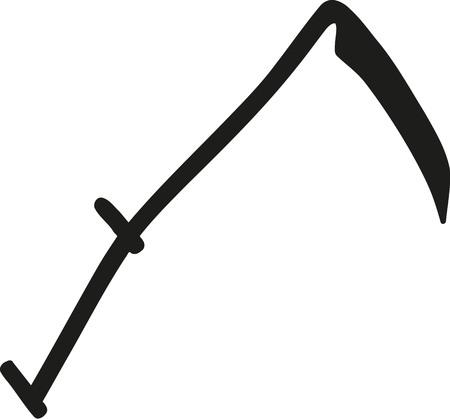 guadaña: símbolo de la guadaña