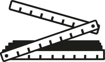 Folding Regel Symbol