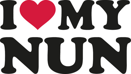 I love my nun