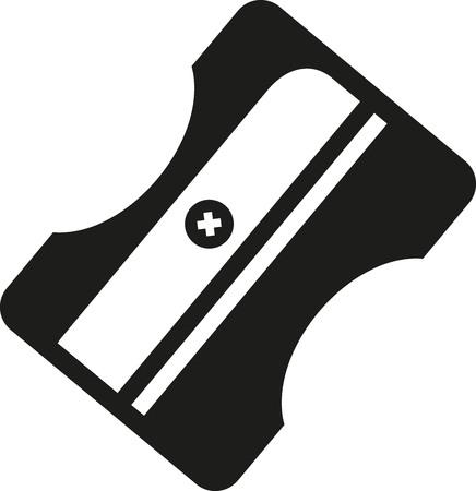 sacapuntas: icono de los sacapuntas Vectores