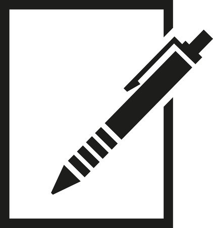 ballpoint: ballpoint with paper