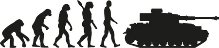 commando: Evolution tank Illustration