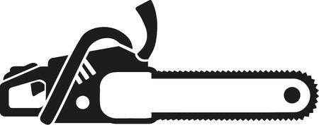 Tronçonneuse icône
