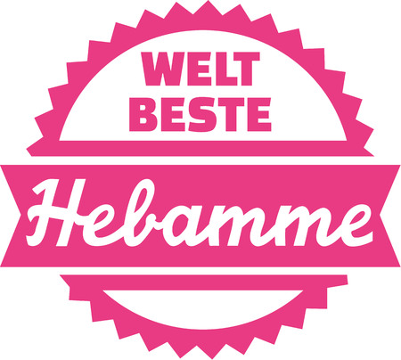 midwife: Worlds best Midwife - german