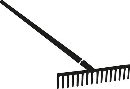 rake: Rake agriculture Illustration