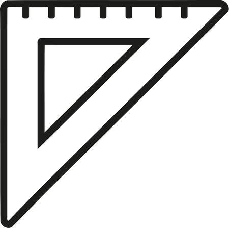 set square: Set square ruler