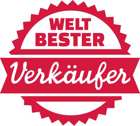 Worlds best clerk - german