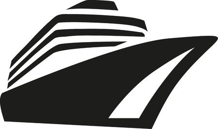 Crociera nave da crociera di linea