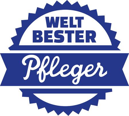 geriatric nurse: Worlds best geriatric nurse - german