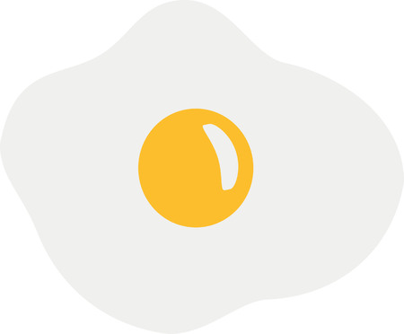 fried egg: Fried egg Illustration