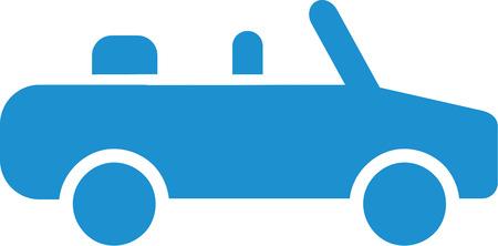 cabriolet: Lightblue Cabriolet icon