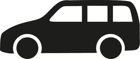 station wagon: Station wagon icon
