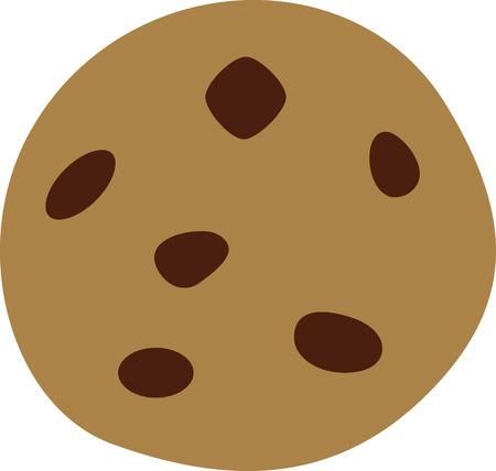 Chocolate Chip Cookie Standard-Bild - 59636059