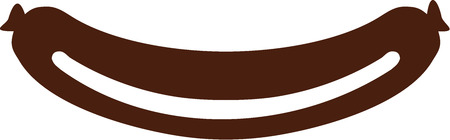 bratwurst: Sausage icon
