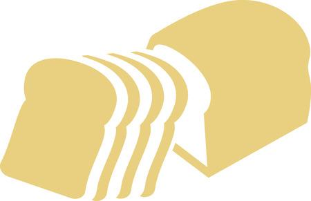 슬라이스 틴 로프 빵