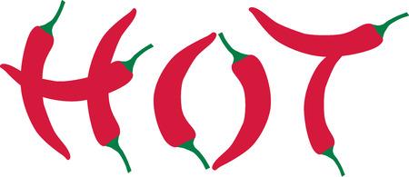 Chili pepper - hot