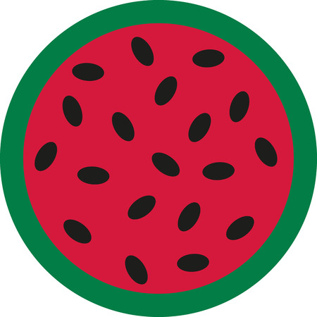 Half of a Watermelon Ilustrace