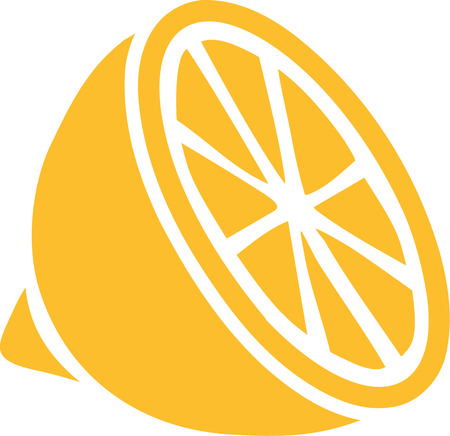 얇게 썬 레몬의 아이콘