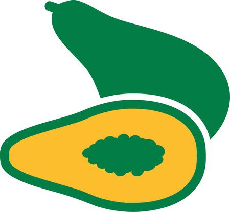 papaya: Papaya sliced