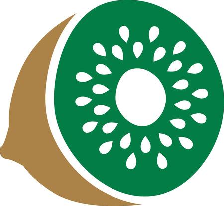 kiwi: Sliced kiwi