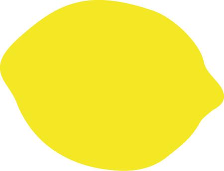 citron: Lemon silhouette Illustration
