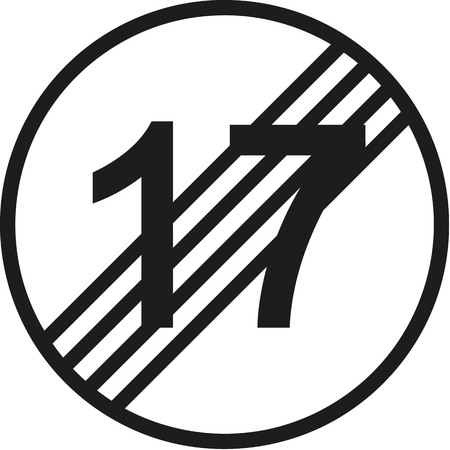 happy 18th birthday: 18th birthday traffic sign