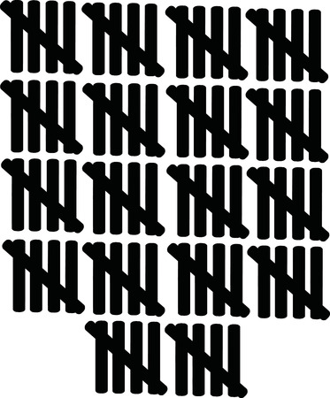 ninety: 90 lines counting - ninety Illustration