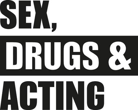 Droghe sessuali e recitazione Archivio Fotografico - 60939509
