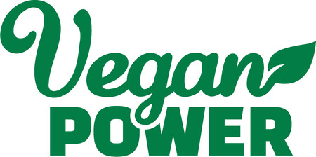 power: Vegan Power Illustration
