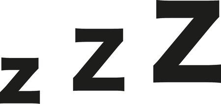 zzz: Sleeping zzz z-z-z