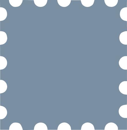 Grey postzegel pictogram