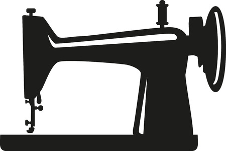 Traditionele naaimachine