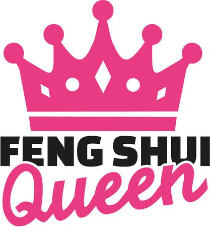 yin y yan: reina Feng Shui