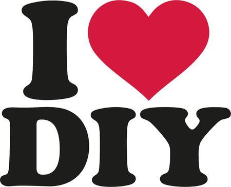 diy: I love DIY Illustration